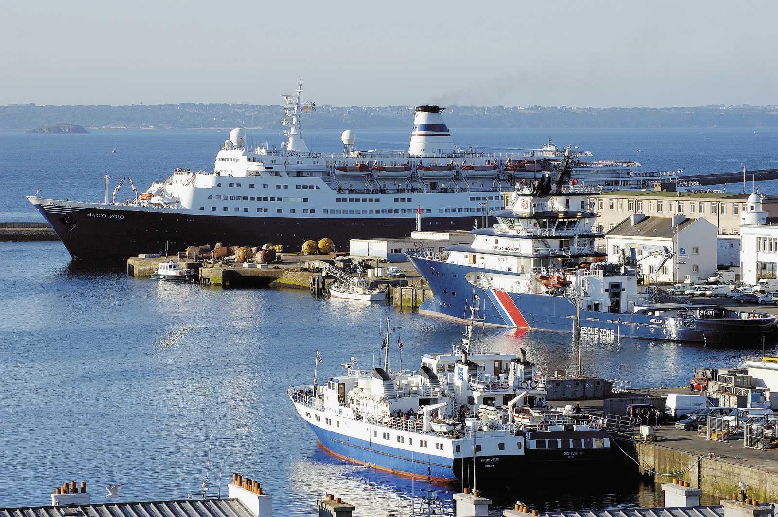 Le territoire du pays de brest - Restaurant port de commerce brest ...