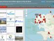 Carte interactive des acteurs de la filière algues