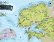 Carte touristique Brest terres océanes